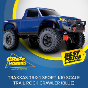 Traxxas TRX4 Sport 1/10 Scale Trail Rock Crawler (Blue) RTR *IN STOCK*