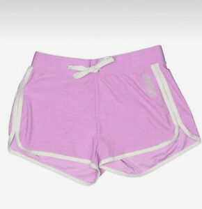 Justice Girl's Size 10 Sport Logo Dolphin Shorts in Purple New with Tags