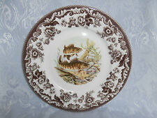 SPODE WOODLAND NORTH AMERICAN FISH WALLEYE 9.25 Inch LUNCHEON PLATE RARE NEW
