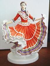 Royal Doulton Dances of the World Mexican Hat Dance Figurine Hn5643 Ltd Ed -New!