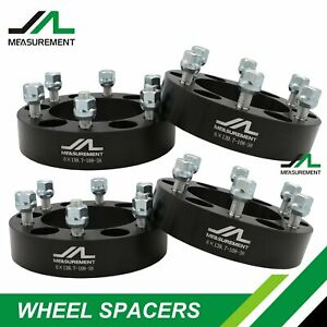 TUPARTS 4set 4x4.5 1.5 12x1.5 82.5 Wheel Spacers adapters fits for Toyota MR2 Toyota Tacoma