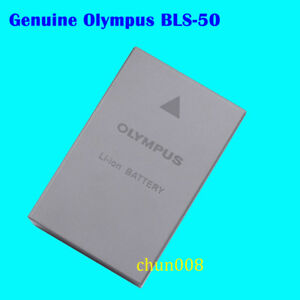 100% Genuine Original OLYMPUS BLS-50 Battery For EPL3 EPL5 EPL7 EPM1 EM10 BCS-5