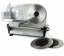 Food Slicer Meat Bread Cutter Electric Steel 150W Machine Multi Cutting