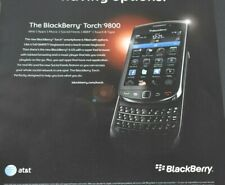 2011 Print Ad BlackBerry Torch 9800 Cell Phone Smartphone Qwerty Slider Touch