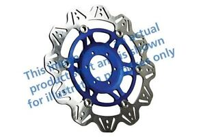 Pour Moto Guzzi 1200 Griso 8V (Support 07>12 EBC VR Frein Disque Bleu Hub Avant