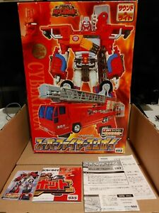 Transformers RID (2001)/Car Robots - Fire Convoy/Optimus Prime - CIB