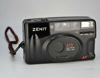 "NEAR EXC RARE RUSSIAN ""ZENIT 610"" AUTOMATIC FILM COMPACT camera + f4.5/35mm LENS"