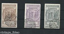 1923 PRO CASSA PREVIDENZA CAMICIE NERE serie completa usata (Sassone n. 147/9)