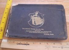 1893 Marion Steam Shovel Co. catalog Wreckers Unloaders railroad VINTAGE 137 pgs