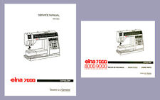 Elna 7000 * Service  / REPAIR Manual and Parts / Schematics books * CD or DWNLD