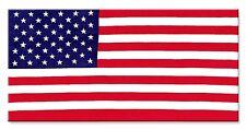"United States of America USA 27"" x 54"" American Flag Beach / Pool Bath Towel"
