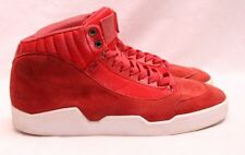 AH by Android Homme AHB-M121100-AM Red Suede Athletic Mid Sneaker Men's U.S. 7