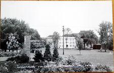 1940 Realphoto Postcard: Wartburg College, Campus View - Waverly, Iowa IA