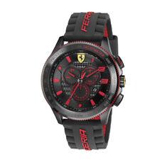 Ferrari Analógico Casual XX Chronograph Negro De los hombres 0830138