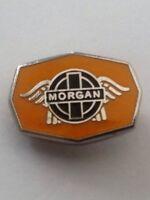 MORGAN ENAMEL LAPEL PIN BADGE CAP BADGE