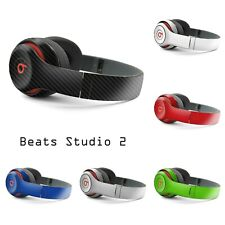 Beats by Dre STUDIO 2 - Carbon 3D Skin Wrap Graphics Cover Decal Sticker 2nd Gen