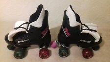 """Bauer"" ""Turbo"" Original 90s Quad Rollerskates In A Uk Size 4."