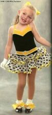 Little Miss Sunshine Dance Costume Ballet Tutu & Gloves Clearance Child X-Small