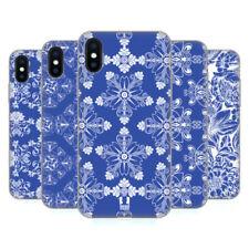 Cover e custodie blu modello Per iPhone X per cellulari e palmari silicone / gel / gomma