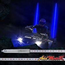 Addmotor 5 Feet LED Whip Light Antenna Quick Release for ATV UTV Jeep Buggy Blue