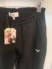 """Roxy Girls 'Cargo Algodón Pantalones tropicalia """"Negro 14 años de edad BNWT RRP £ 33"""