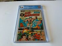 SUB-MARINER 60 CGC 9.6 WHITE PAGES LORVEX APPEARANCE MARVEL COMICS 1973