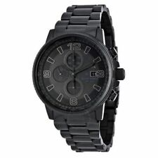 Citizen Eco-Drive CA0295-58E Men's HTM 2.0 Black IP Chronograph Stainless Watch