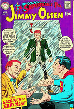 Superman's Pal, Jimmy Olsen # 123 (Sep 1969, DC) - Very Good