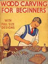 Wood Carving For Beginners, Haywood, Charles H, Good Condition Book, ISBN
