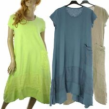 Scoop Neck Tunic Asymmetric Plus Size Dresses for Women