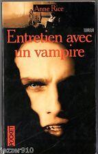 ANNE RICE # ENTRETIEN AVEC UN VAMPIRE # 1997 pocket terreur