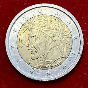 #6042 - 2 euros 2002 Italie surplus de métal fautée - FACTURE
