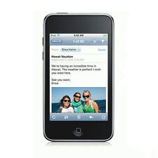 BLACK APPLE IPOD TOUCH 2ND GENERATION 8GB WORKING & WARRANTY GRADE B BARGAIN