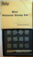 Tandy Leather Co Mini Pictorial Stamp Sets 3550 Scouts Camp Outdoors Wildlife