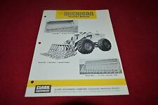 Michigan Tractor Loader Land Clearing Attachments Dealer Brochure AMIL12