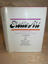 Vintage Collectable Book Of Erotic Art, By Phyllis Kronhausen - 1968