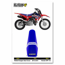 2013-2016 HONDA CRF 110 Troy Lee Designs Adidas SEAT COVER BY Enjoy MFG