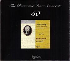 Stephen Hough Tchaïkovski PIANO CONCERTO 1 2 3 Osmo Vänskä Hyperion 2cd Romantic