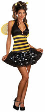 Bee De-light Light Up Costume S (2-6) Dreamgirl 5958 Sexy Bee Costume NWT