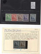 San Marino 1932 Serie Palazzetto della Posta CENTRATA certificata Colla MNH