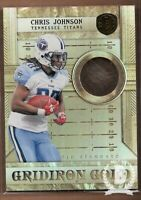 2011 Panini Gold Standard Gridiron Gold 14K #18 Chris Johnson /10