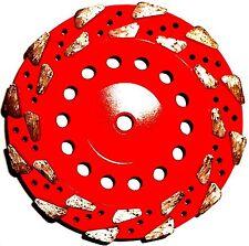 "7"" SUPER Z #18/20 COARSE Diamond Grinding Cup Wheel Hard Concrete Masonry-BEST"