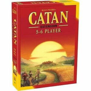 Catan 5 & 6 Player Exp (2015 Refresh) - Brand New & Sealed