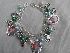 THE LITTLE MERMAID ARIEL  CHARMS BRACELET - CHILDS SIZE