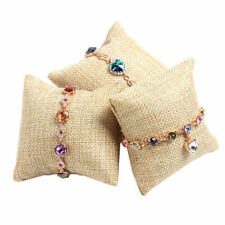 Small Pillow Cushion Bracelet Bangle Wrist Watch Jewelry Showcas Display Holder