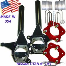 """J CHASSIS TECH 2004-2014 Titan Front 6.5"""" Rear 5"""" Lift Spindle/LEVEL- 5"""" Blocks"""