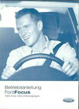 FORD   FOCUS  + ST  Bedienungsanleitung   2005   Betriebsanleitung   Handbuch BA