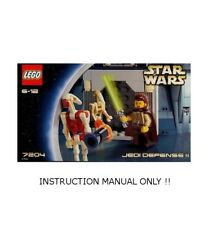 (Instructions) for LEGO 7204 - Star Wars: Jedi Defense II - MANUAL ONLY