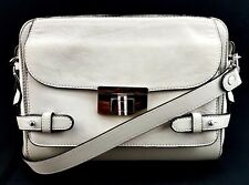 Marni White Leather Crossbody Made in Italy Shoulder Bag