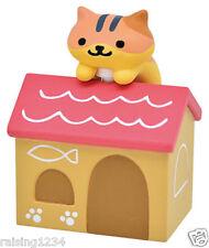 BANDAI Neko Atsume Kitty Collector Double Jack Earphone (Princess Deluxe House)
